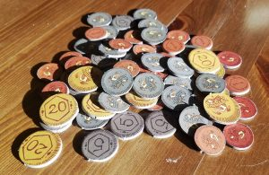 King Chocolate Coins