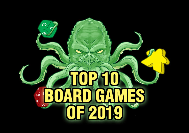 Top 10 Board Games of 2019