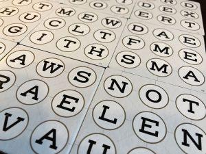 Blind Spot Letters