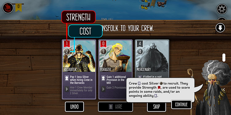 Raiders of the North Sea Digital Cards
