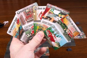 Getaway Driver Driver Cards