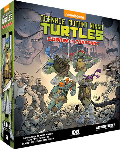 Teenage Mutant Ninja Turtles Change Is Constant Review Board Game Quest