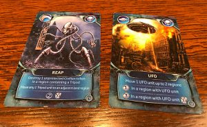 War of the Worlds Cards