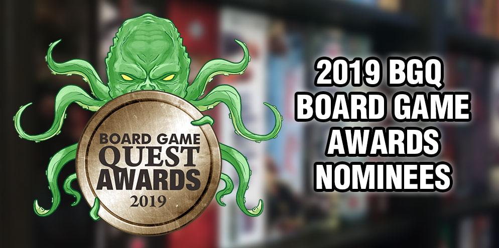 2019 Board Game Awards