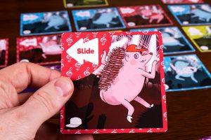 Hedgehog Hop Card