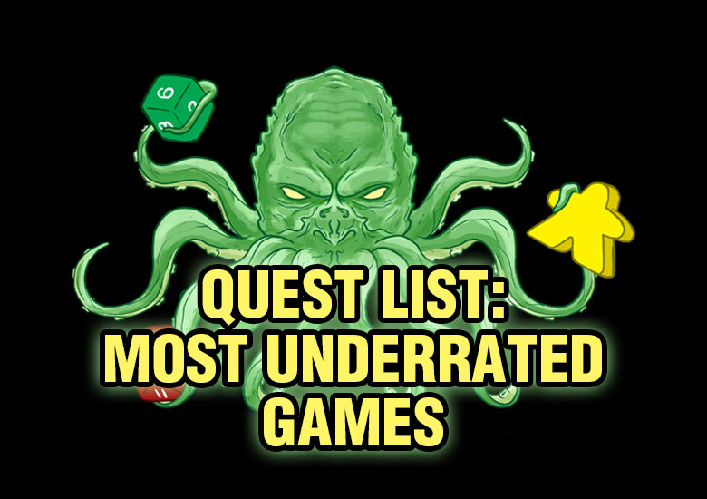 Most Underrated Games