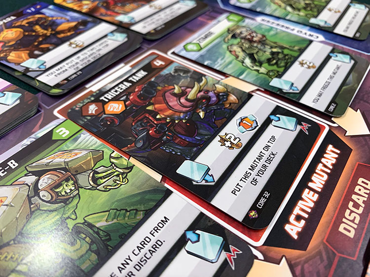 Mutants Mutants Game Experience