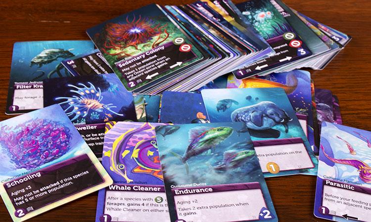 Oceans Deep Cards