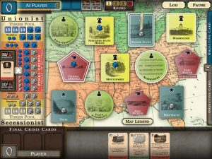Fort Sumter Game Board