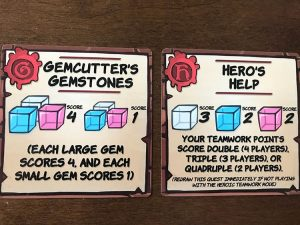 Dungeon Drop Cards