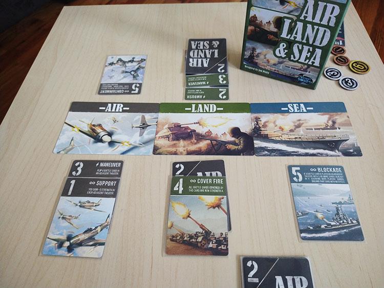 Air Land & Sea Game Experience