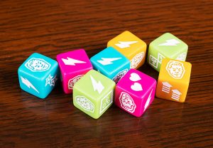 Back to the Future: Back in Time Dice