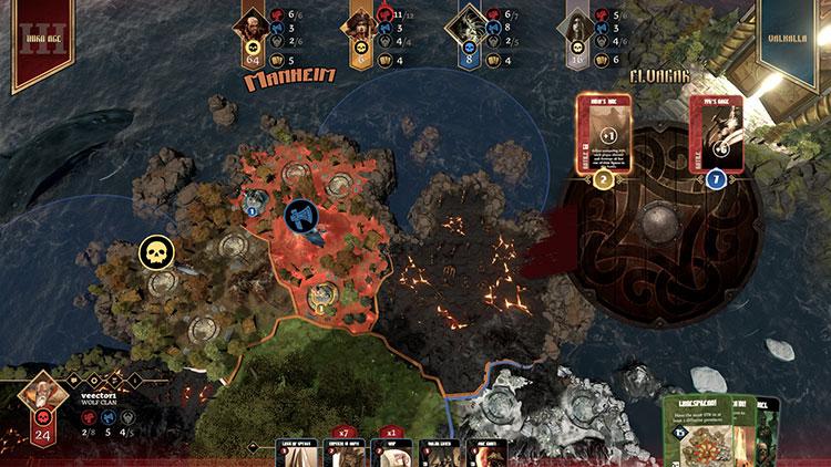 Blood Rage Digital Battle