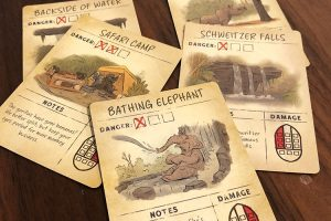 Jungle Cruise Cards