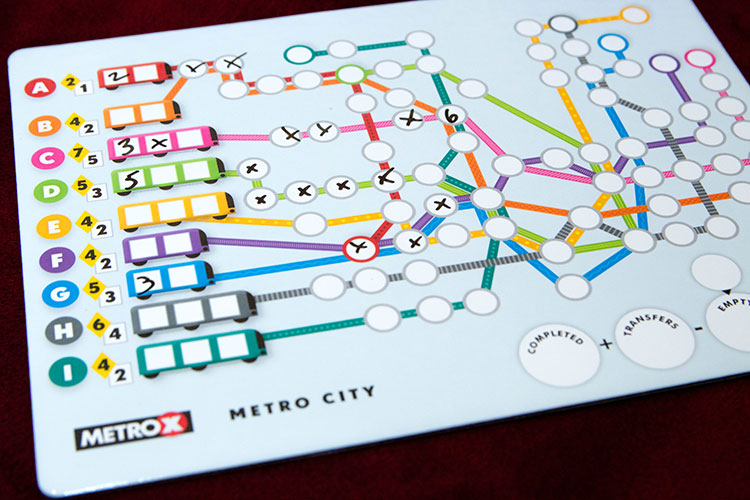 MetroX Game Experience