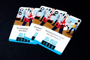 Back to the Future: Dice Through Time Cards