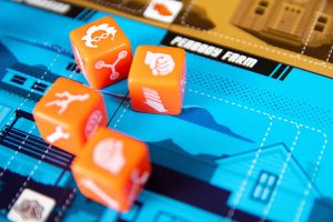 Back to the Future: Dice Through Time Dice