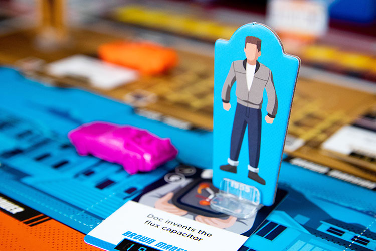 Back to the Future: Dice Through Time Game Experience