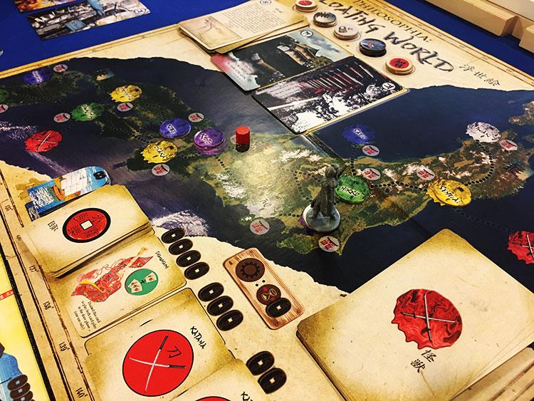 Philosophia Floating World Game Experience