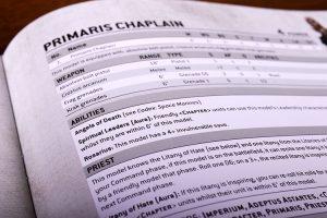 Warhammer 40k Indomitus Stats