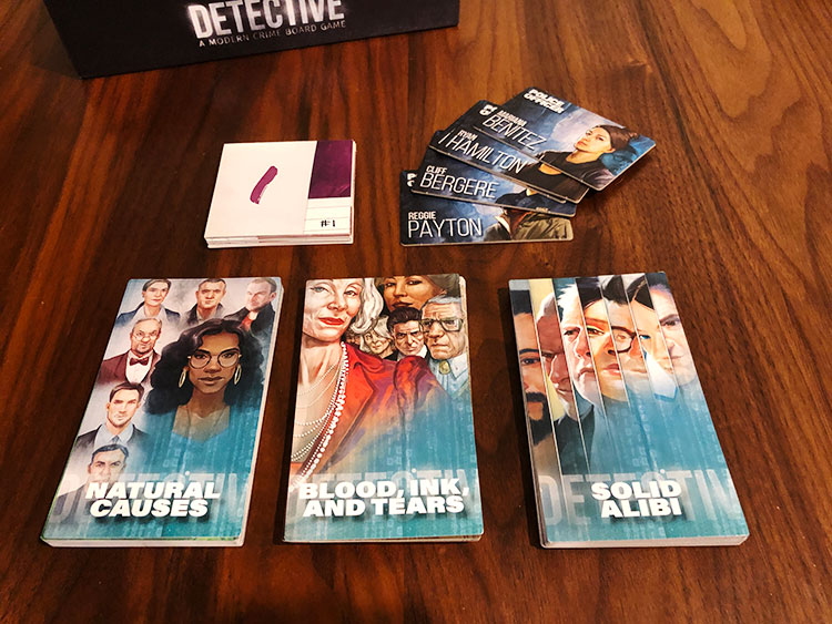 Detective Season One Components