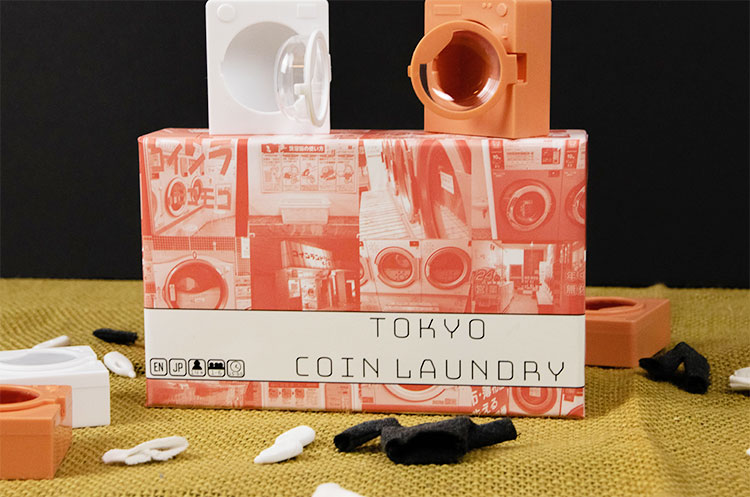 Tokyo Coin Laundry Components