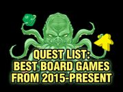 Best Board Games from 2015-Present