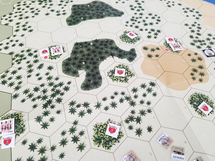 Combat Commander: Pacific Game Experience