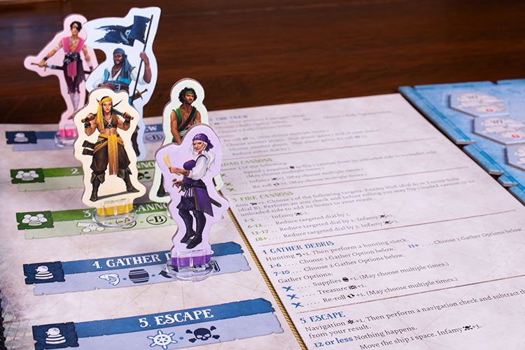 Forgotten Waters Game Experience