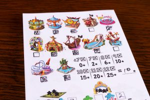 Meeple Land Score Sheet
