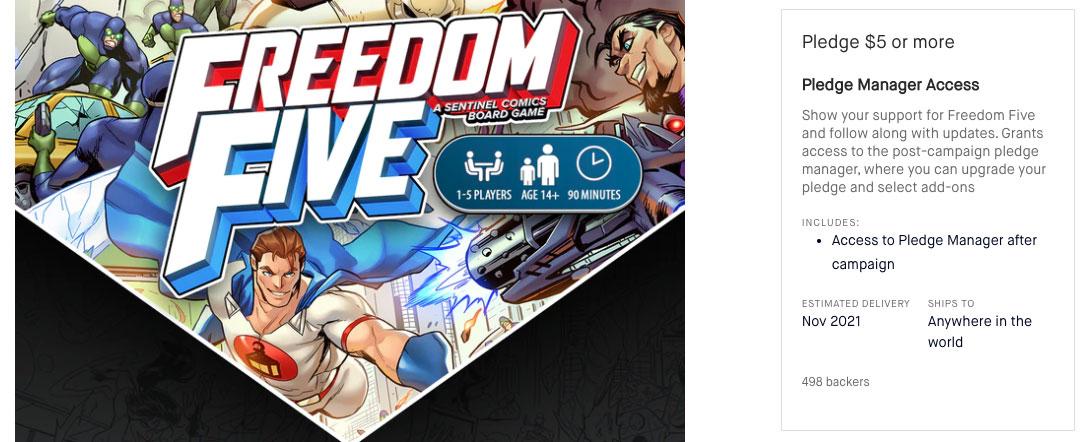 Freedom Five