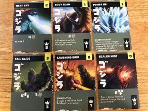 Godzilla Tokyo Clash Cards