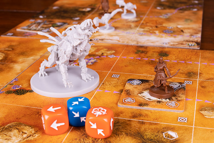 Horizon: Zero Dawn The Board Game Game Experience
