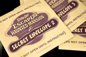 Scooby-Doo Escape the Haunted Mansion Envelopes