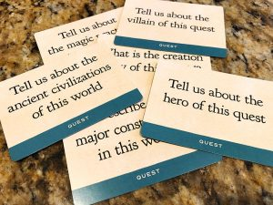Tall Tales Quest cards