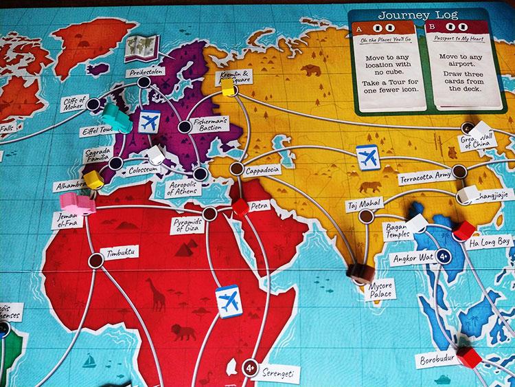 Trekking the World Game Experience