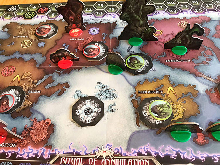 Cthulhu Wars Duel Game Experience