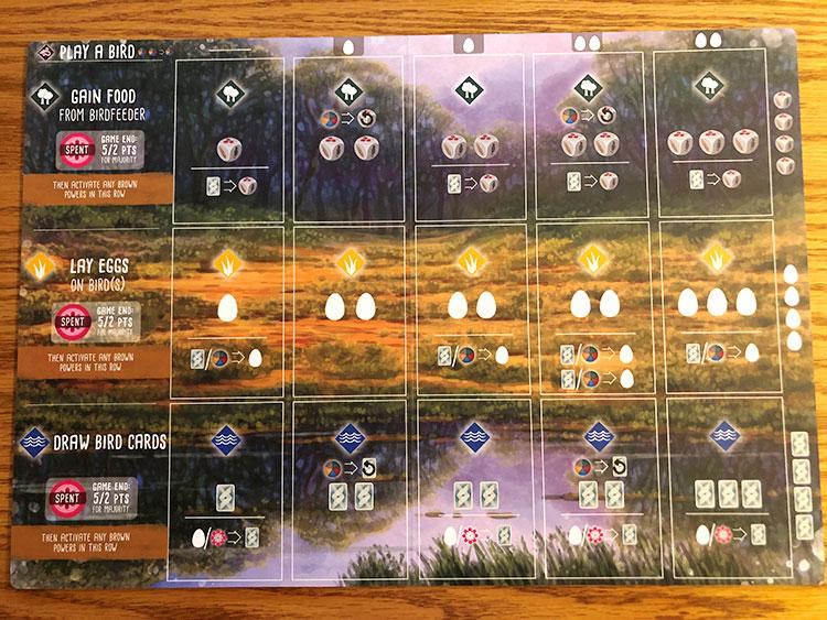 Wingspan Oceania New Boards