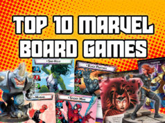 Top 10 Marvel Board Games