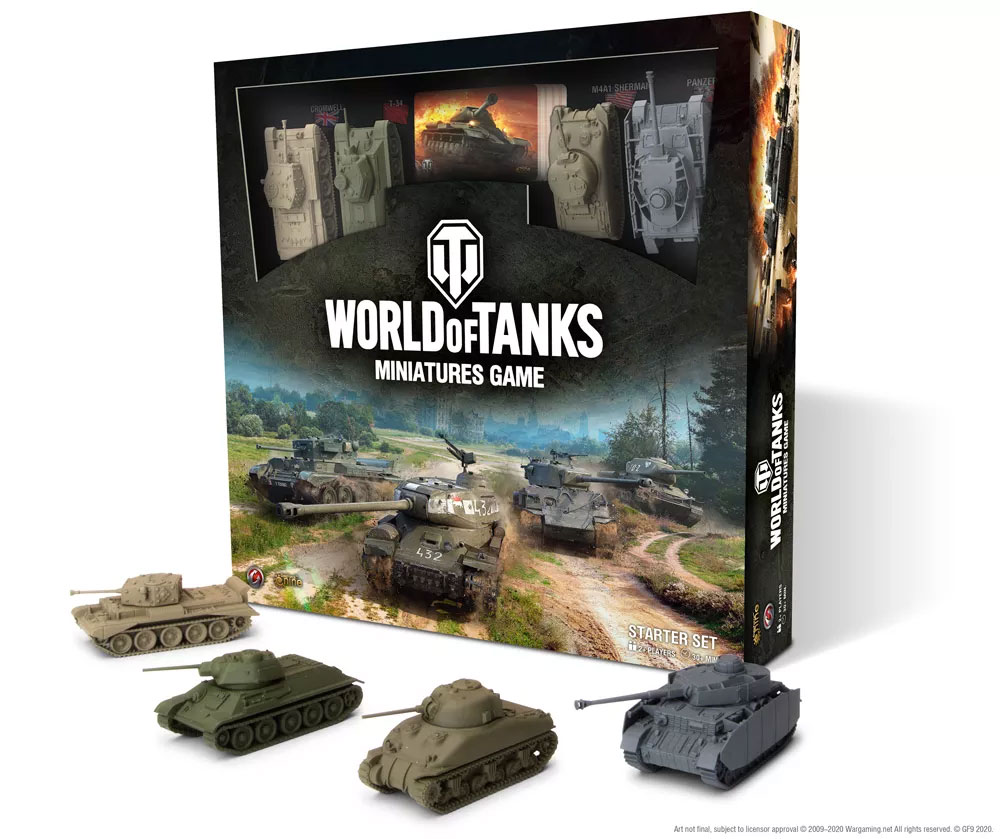 World of Tanks Miniatures Game Review