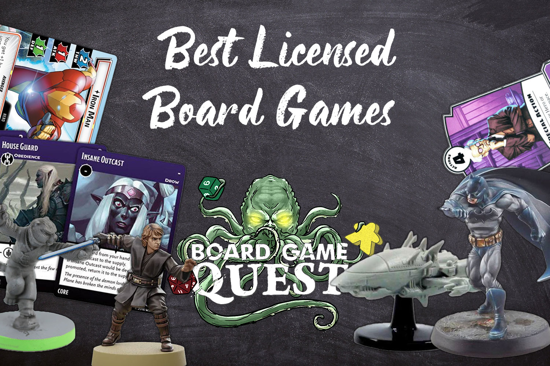 Best Licensed Board Games