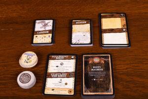 Robinson Crusoe Treasure Chest Cards