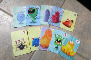 Monster Chase Cards