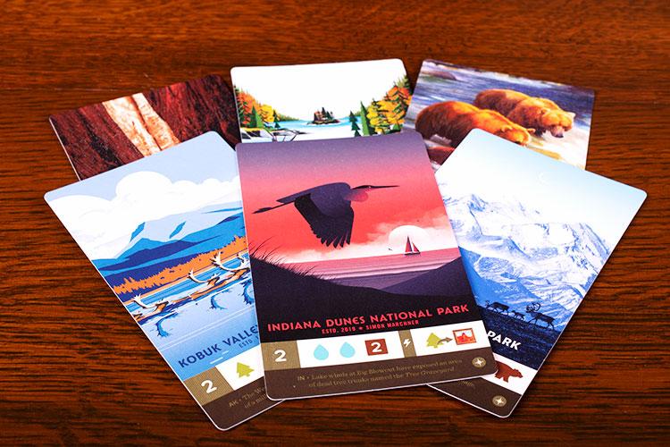 PARKS: Nightfall Parks Cards