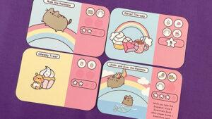Pusheen Purrfect Pick Cards