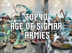 Top Ten Age of Sigmar Armies