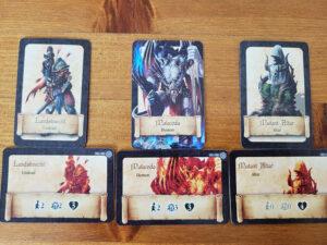 Black Rose War Cards