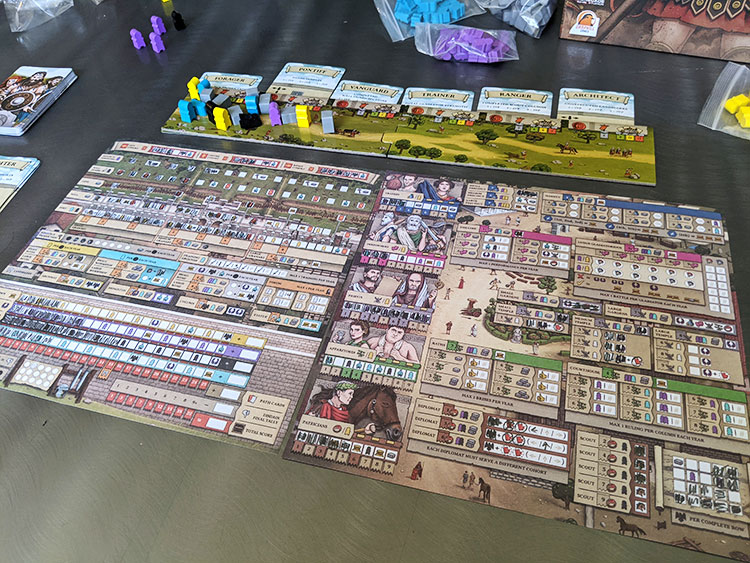 Hadrian's Wall Game Experience