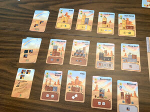 Tumble Town Cards