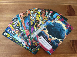 Cosmic Frog Cards
